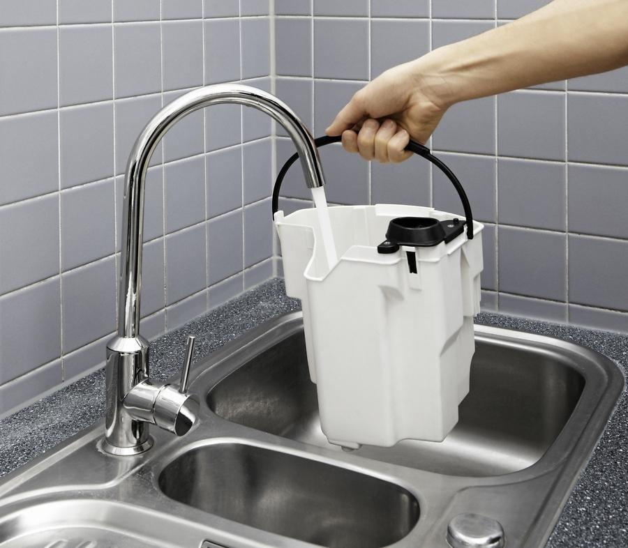 Бак для воды - Моющий пылесос Karcher SE 5.100