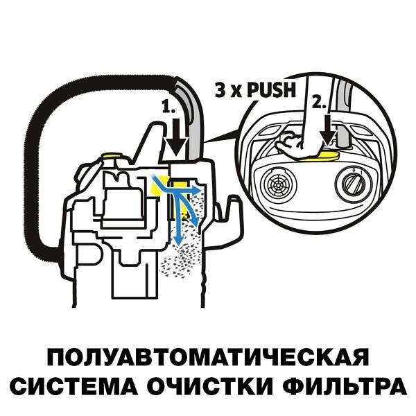 Хозяйственный пылесос Karcher WD 5 - фото 3
