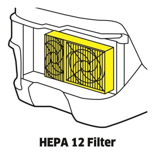 Пылесос с аквафильтром DS 6 - фото 3