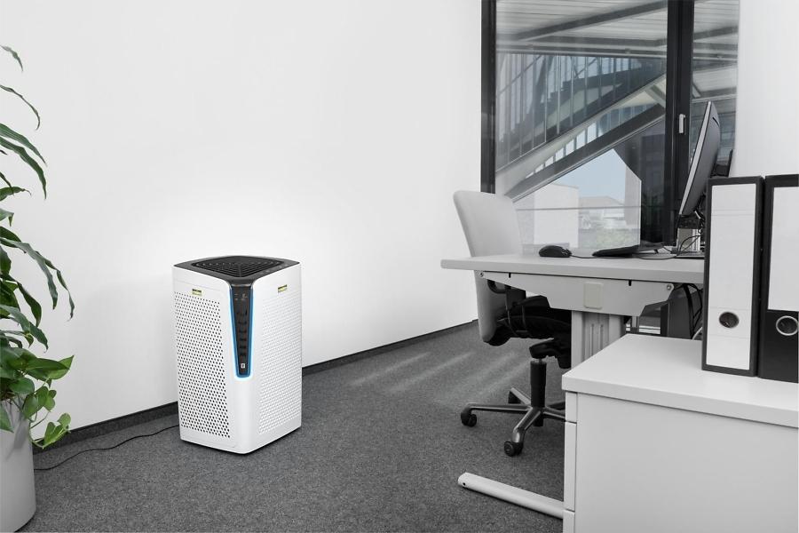 Воздухоочиститель AF 100 в офисе
