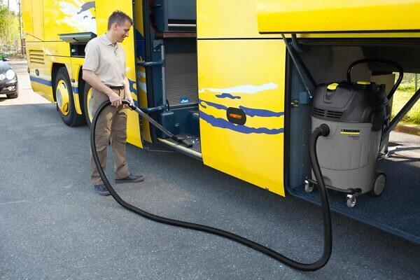 Пылесосы влажной и сухой уборки NT 65/2 Ap для автобуса