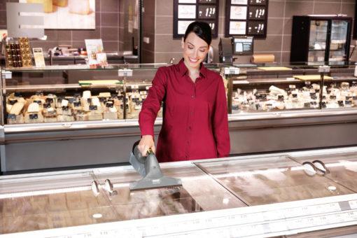 Профессиональный стеклоочиститель WVP 10 Adv в работе