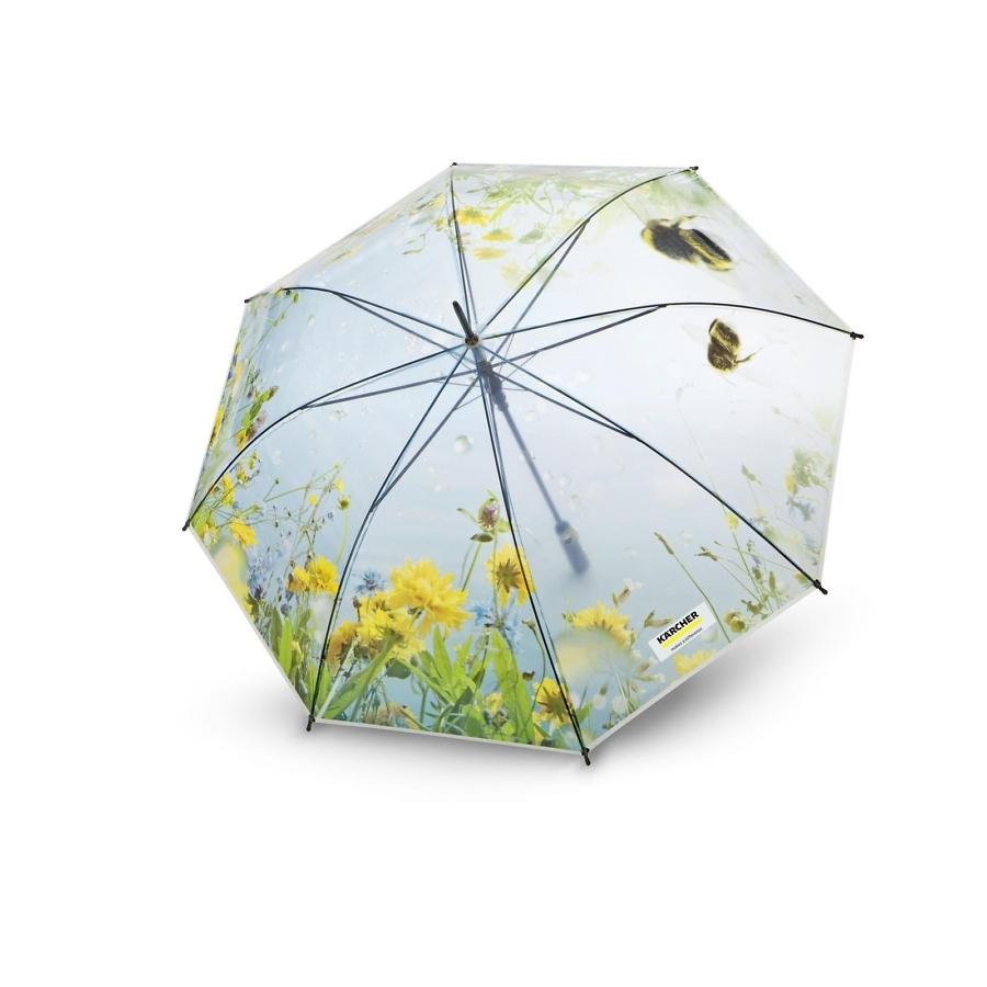 Прозрачный зонт Керхер