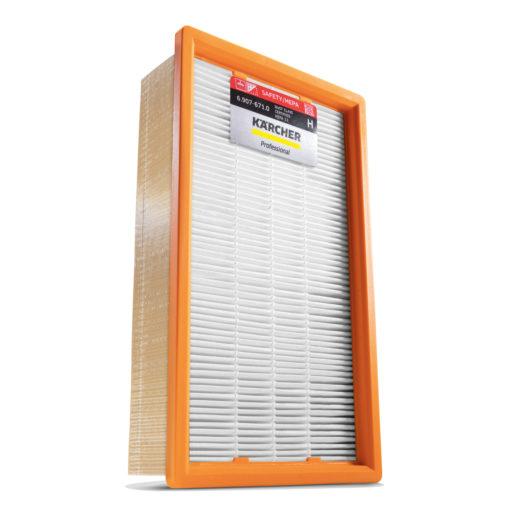 Безопасный пылесос NT 50/1 Tact Te H фильтр