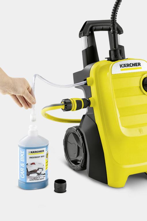 Минимойка Karcher K 4 Compact и чистящее средство
