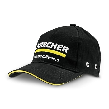 Кепка Керхер черная