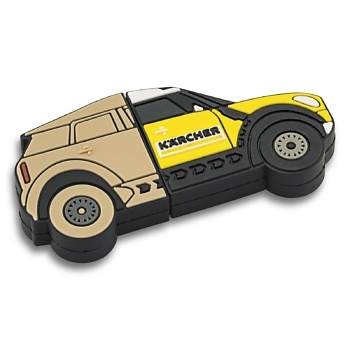 флешка в форме машины Дакар Керхер