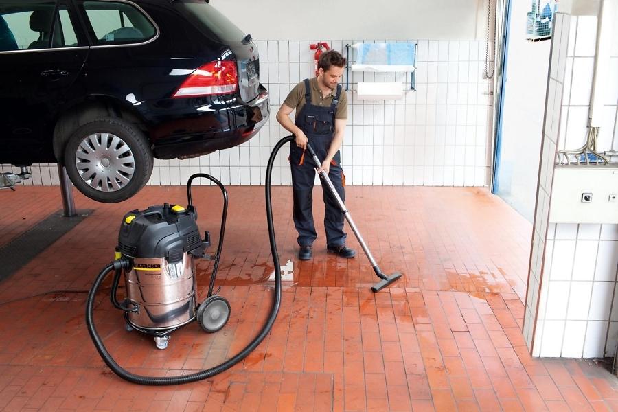 Пылесосы влажной и сухой уборки NT 75/2 Ap Me Tc в работе