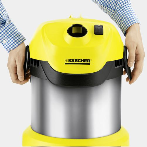 Хозяйственный пылесос Karcher WD 2 Premium Basic - фото 7