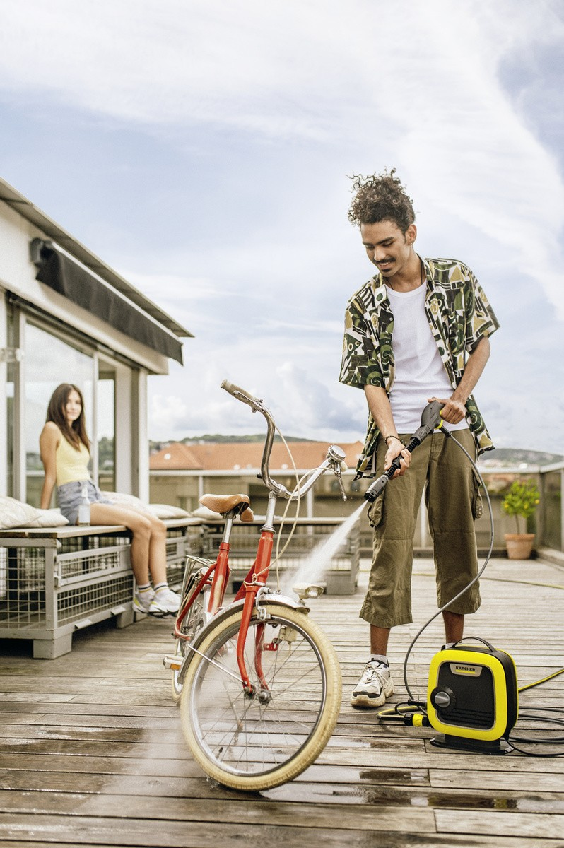 Мойка велосипеда от загрязнений