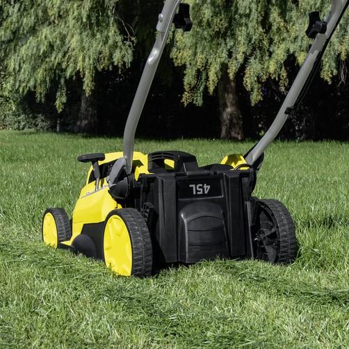 Аккумуляторная газонокосилка LMO 18-36 Battery Set для сада