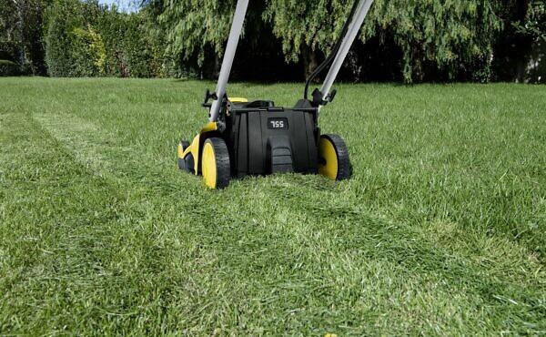 Скашивание травы во дворе частного дома